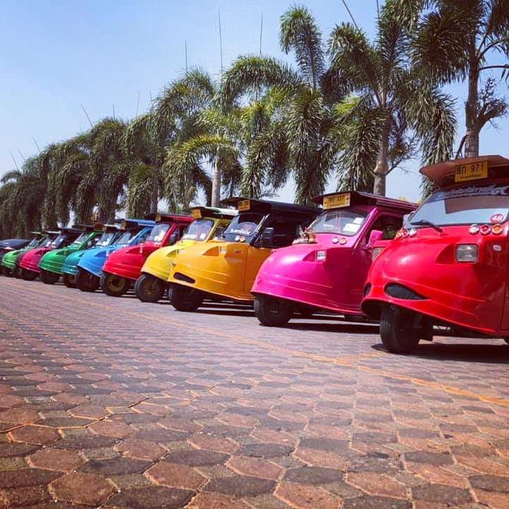 Tuk Tuk Ayutthaya Tour รถตุ๊กหน้ากบอยุธยา