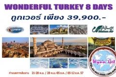 WONDERFUL TURKEY 8 DAY  Hot Price  39,900.-