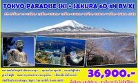Tokyo Paradise Ski + Sakura 6d3n