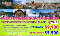 #Europe Charming 3 Countries