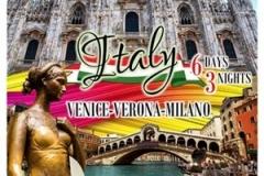 ทัวร์อิตาลี่ 3 เมืองราคาพิเศษสุด (Venice-Verona-Milano)
