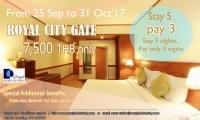 Royal City Gate - Stay 5 pay 3