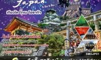 เกียวโต โกเบ โอซาก้า  | 5 วัน 3 คืน